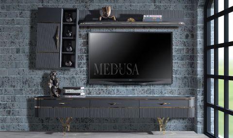 Medusa Home - Arwen Antrasit Tv Ünitesi