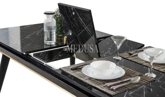 Asil Yemek Masası Black