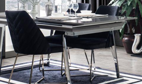 Asos Gri Yemek Masası