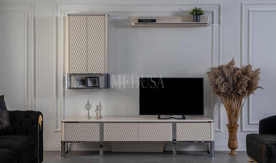Aspendos White Tv Ünitesi