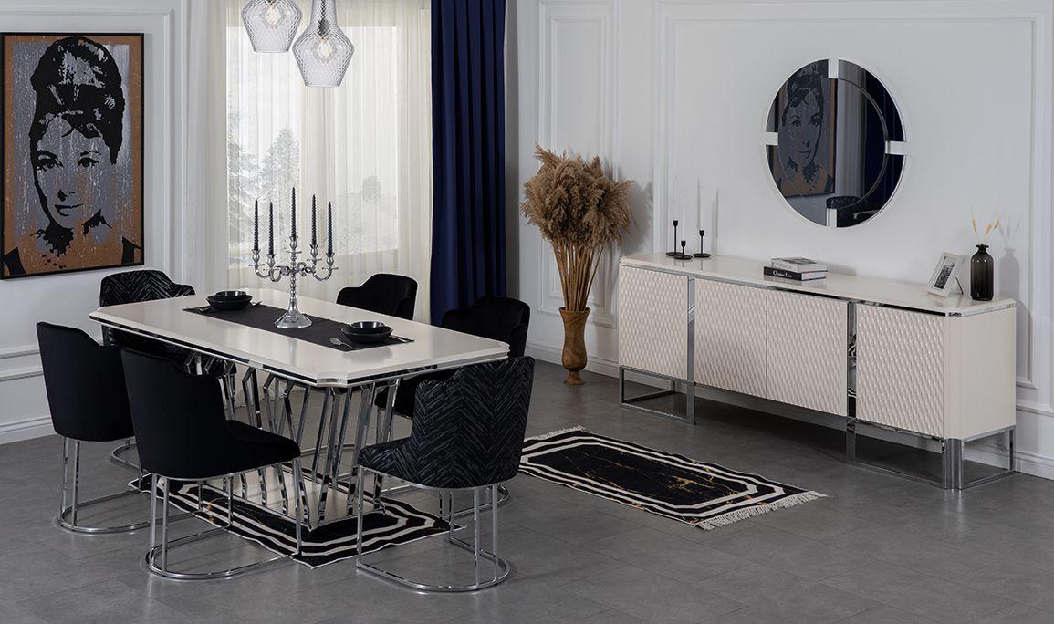 Aspendos White Yemek Odası