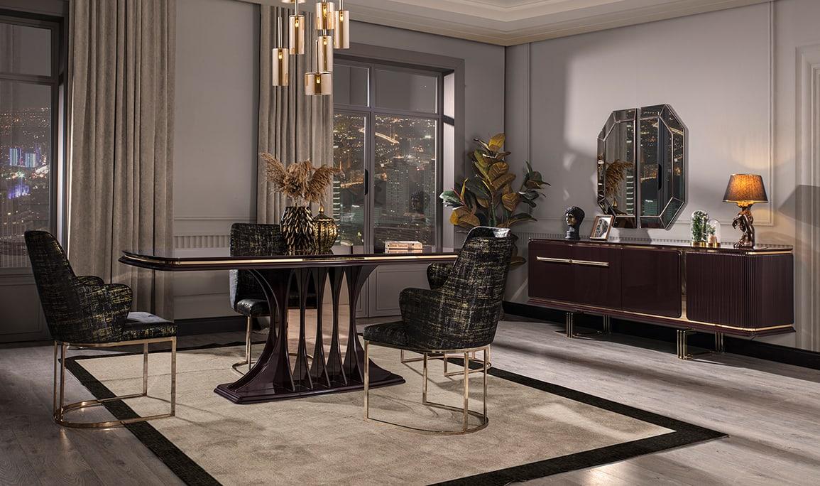 Bergama Luxury Yemek Odası