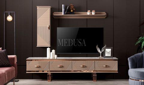 Medusa Home - Clara Bronz Tv Ünitesi