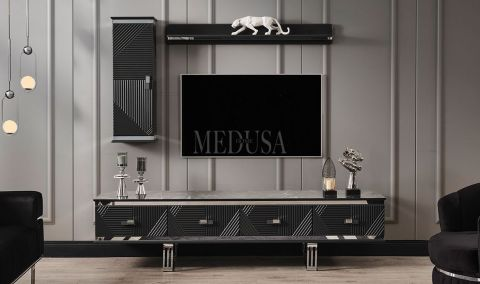 Medusa Home - Clara Siyah Tv Ünitesi