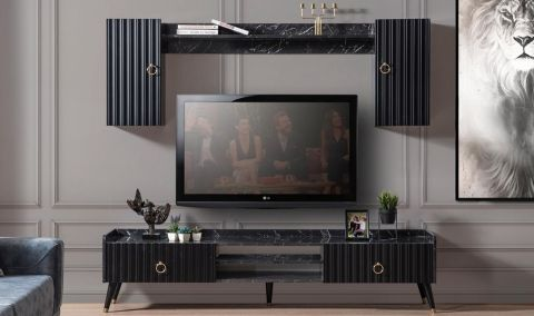 Medusa Home - Daisy Siyah Tv Ünitesi