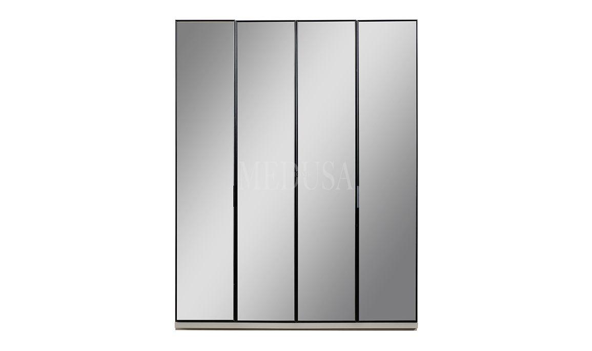Elanor 4 Kapılı Gardırop Ayna Kapak