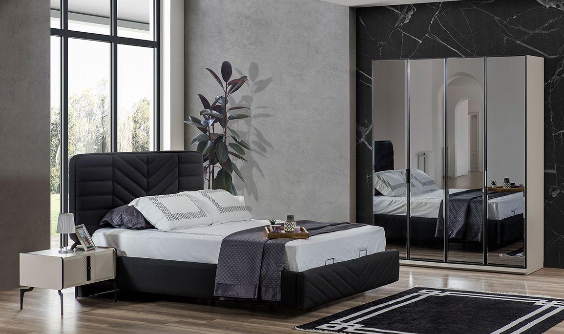 Elanor 4 Kapılı Yatak Odası Ayna Kapak