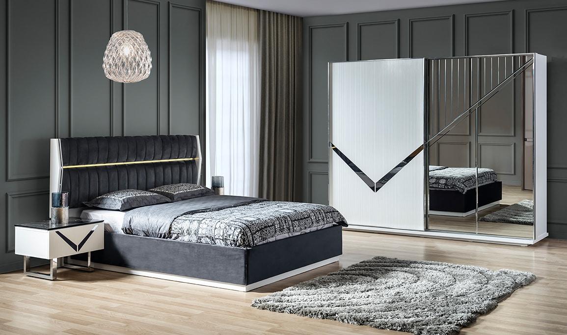 Europa Beyaz Yatak Odası