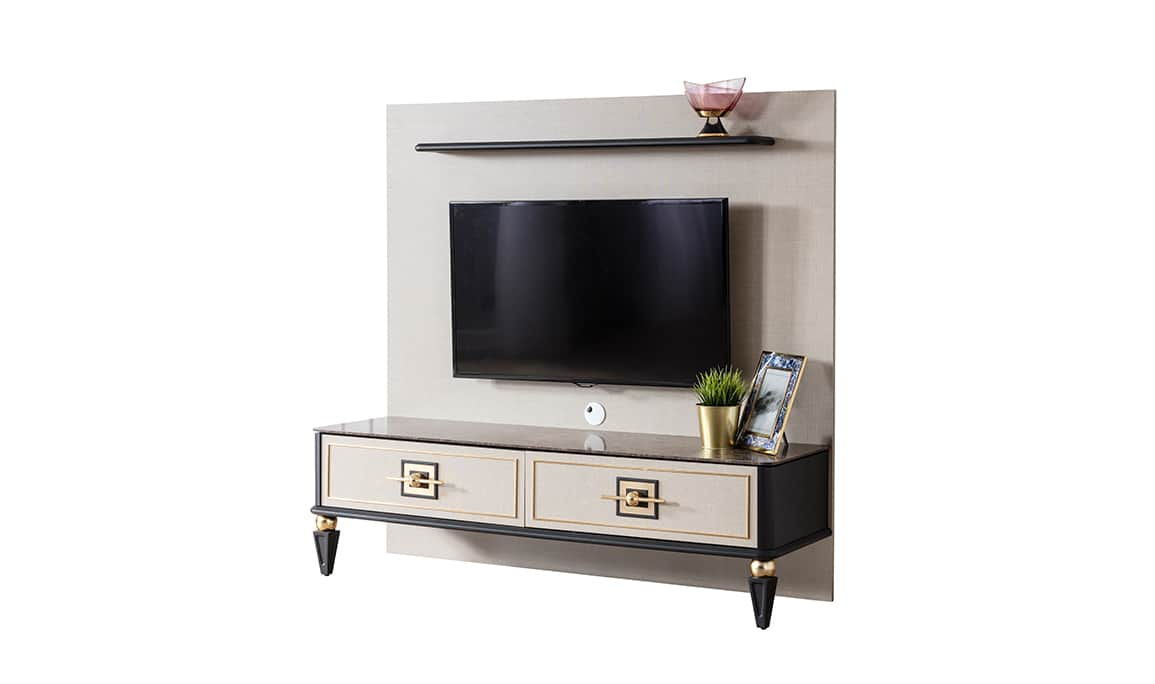 Gold Life Tv Sehpası