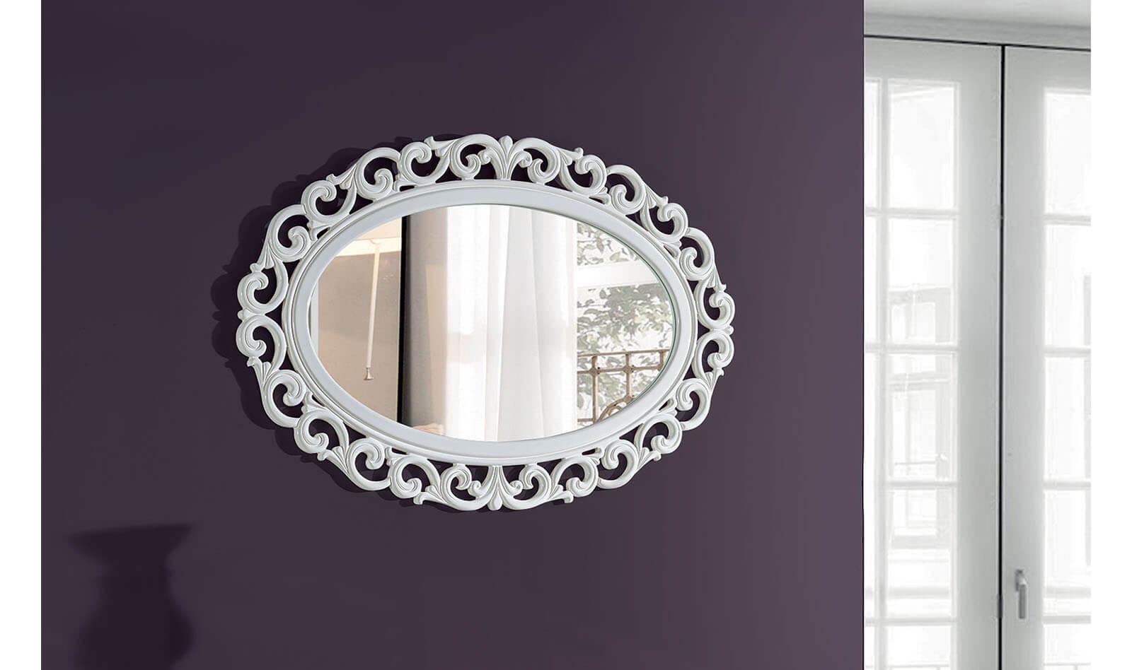 Legno Ayna Beyaz