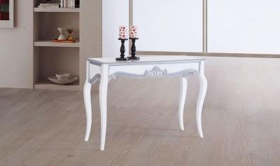 Legno Dresuar Beyaz-Gümüş
