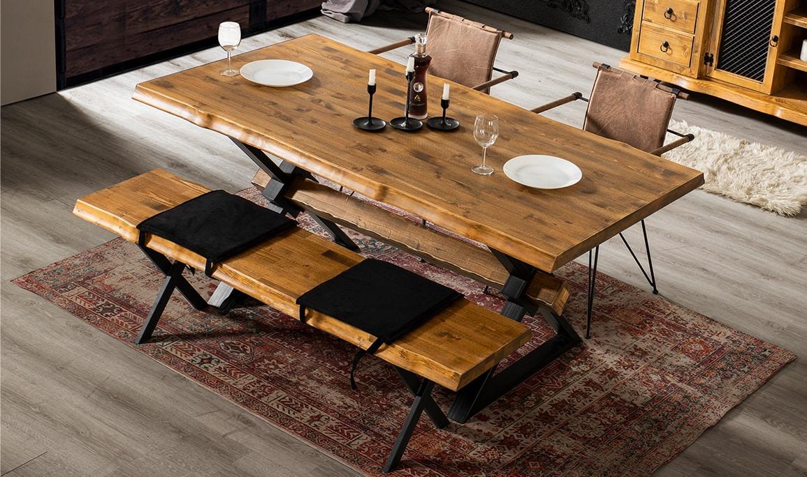 Life Ahşap Yemek Masası