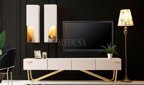 Medusa Home - Lucca Beyaz Tv Ünitesi