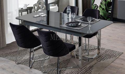 Medusa Home - Marbella Antrasit Yemek Masası