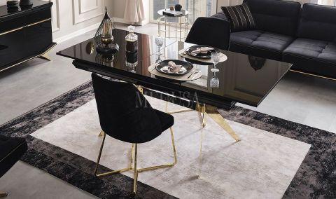 Medusa Home - Masarati Gold Yemek Masası