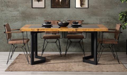 Medusa Home - Mustang Ahşap Yemek Masası