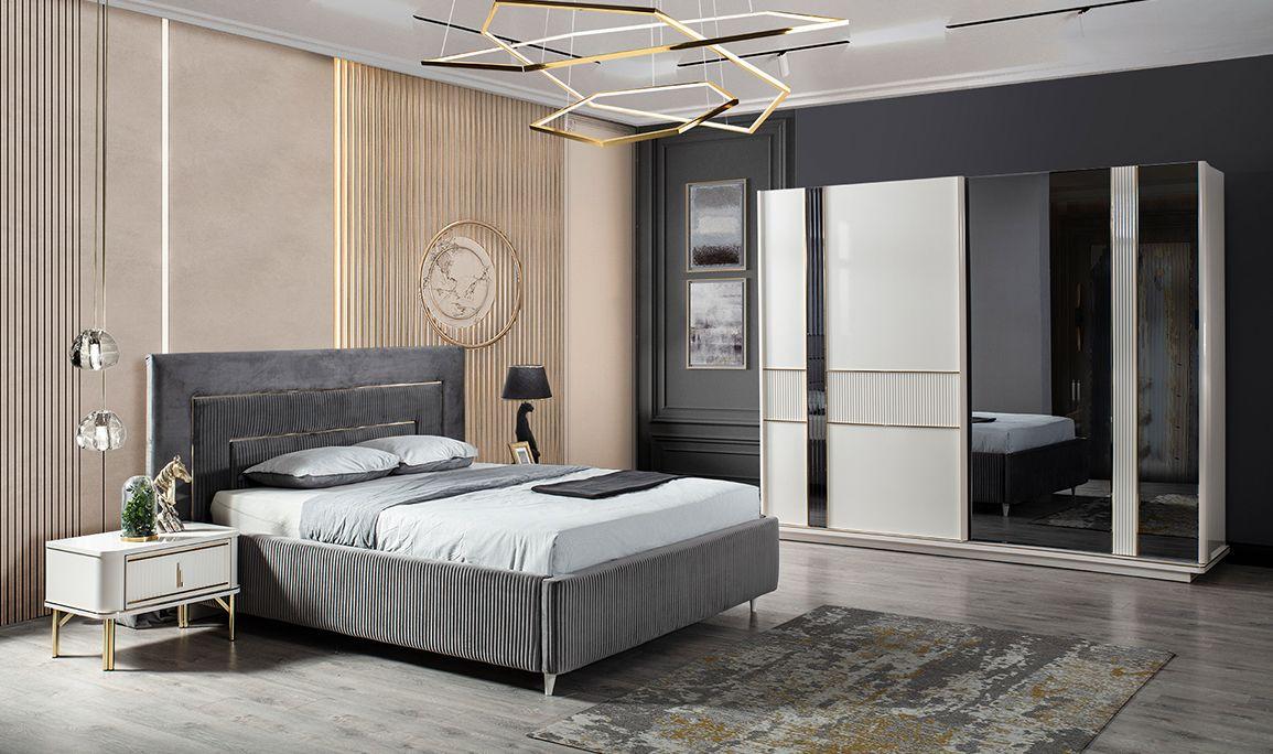 Nehir Beyaz Yatak Odası