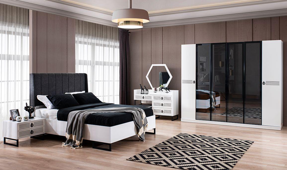 Nutrisha Beyaz Yatak Odası