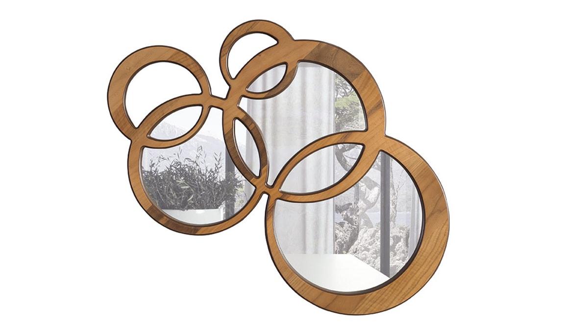 Olimpiyat Walnut Ayna