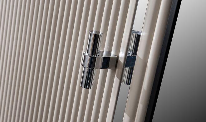 Polo Beyaz 5 Kapılı Gardırop