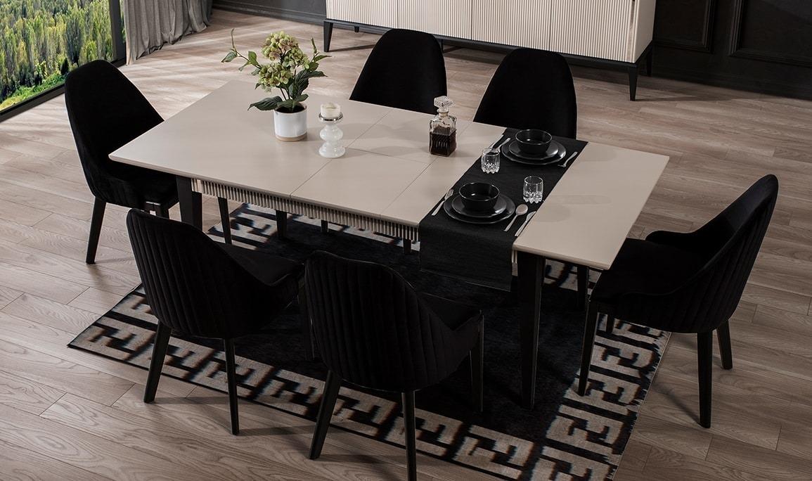 Polo Beyaz Yemek Masası