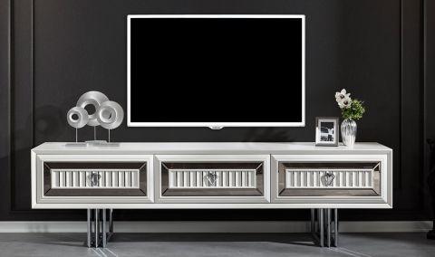 Medusa Home - Roma Beyaz Luxury Tv Ünitesi