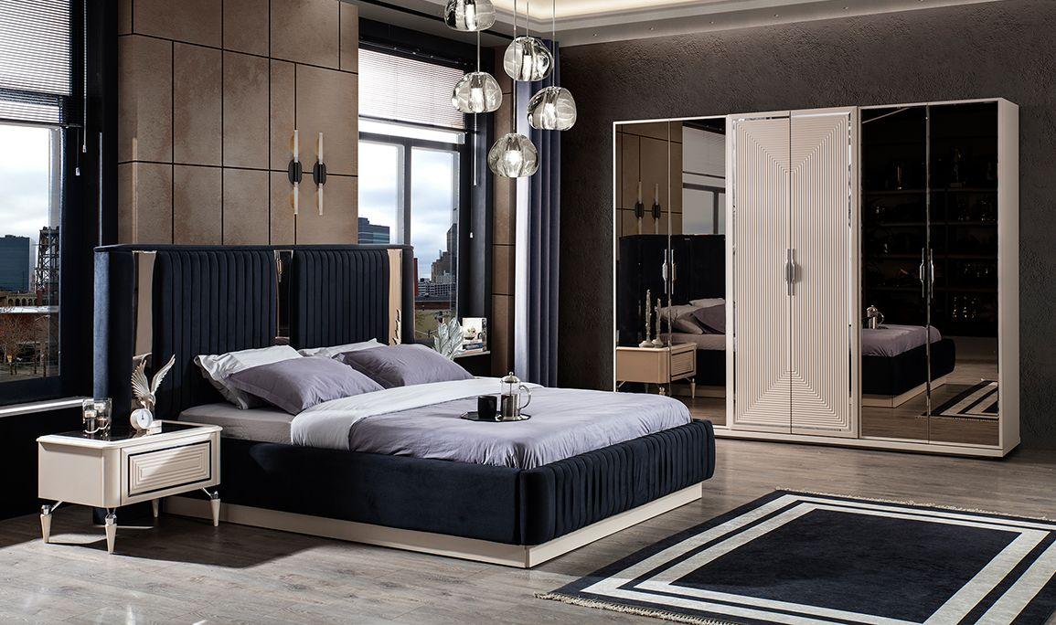 Safir Silver Yatak Odası 6 Kapılı