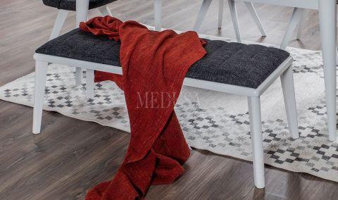 Medusa Home - Star Beyaz Bench