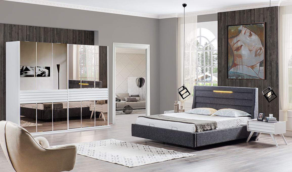 Star Beyaz Yatak Odası