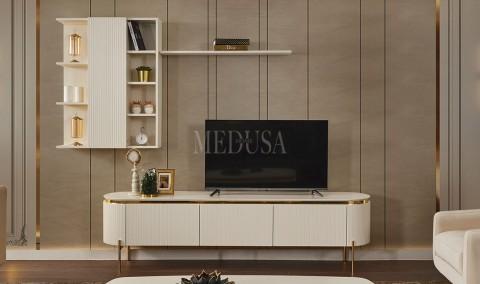 Medusa Home - Tesla White Tv Ünitesi