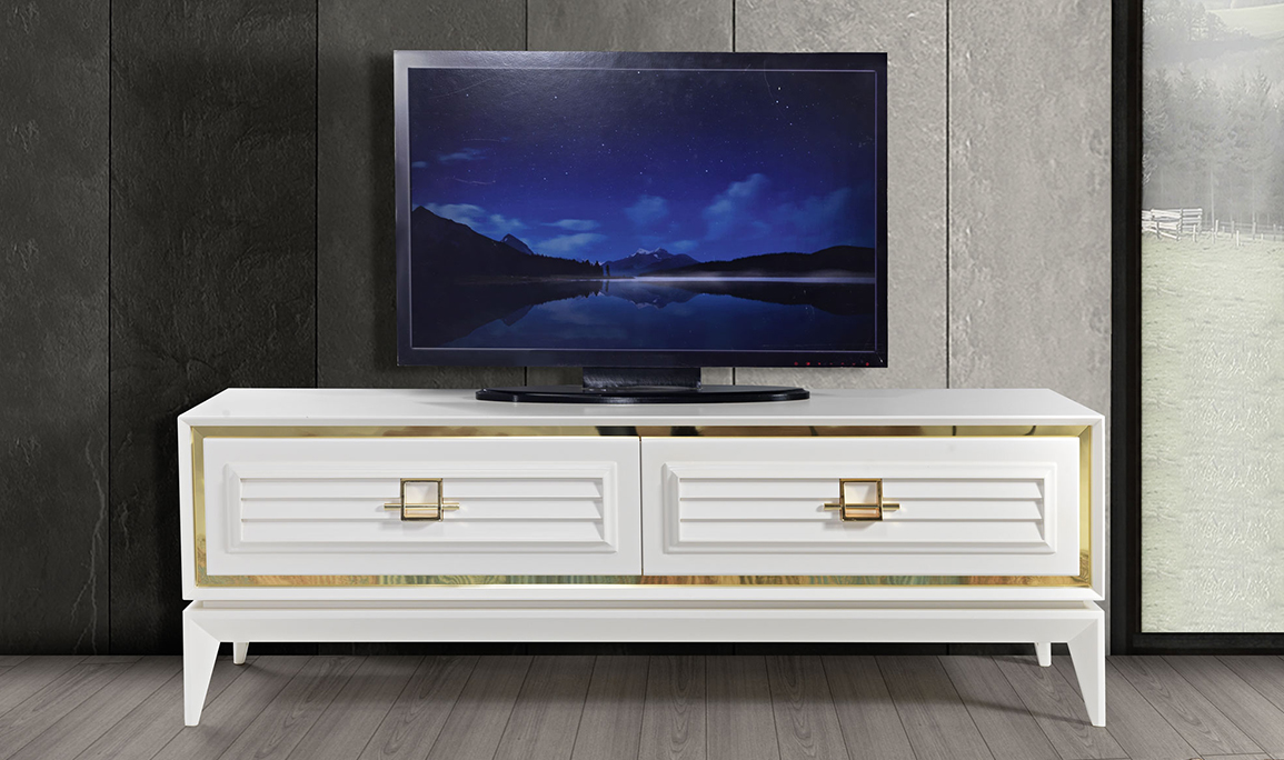 Yağmur Art Deco Tv Sehpası